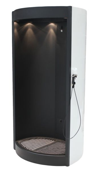 The OPUS 3 Spray Tanning Booth