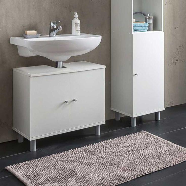 Bad Waschbeckenschrank in Weiß 60 cm Jetzt bestellen unter: https://moebel.ladendirekt.de/bad/badmoebel/waschbeckenunterschraenke/?uid=924c5955-4d5b-50ba-a397-aec34f612282&utm_source=pinterest&utm_medium=pin&utm_campaign=boards #waschtischunterbau #waschschrank #badezimmerkommode #beis #bad #waschtischkonsole #waschbeckenunterschrank #badezimmerschrank #schrank #badschrank #badmoebel #waschbeckenschrank #waschtischunterschrank #waschtisch #badeschrank #waschkommode #badezimmer…
