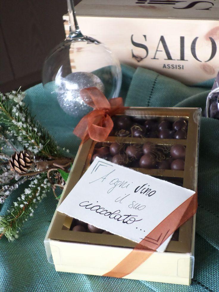 Handmade Praline paired with SAIO Wines