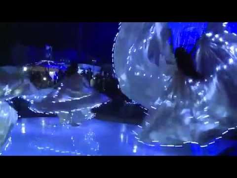 led ışıklı elbiseler -led wings; 05345199005