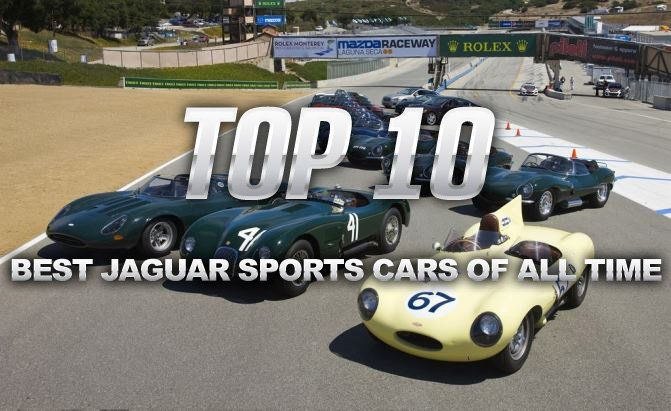 Top 10 Best Jaguar Sports Cars of All Time