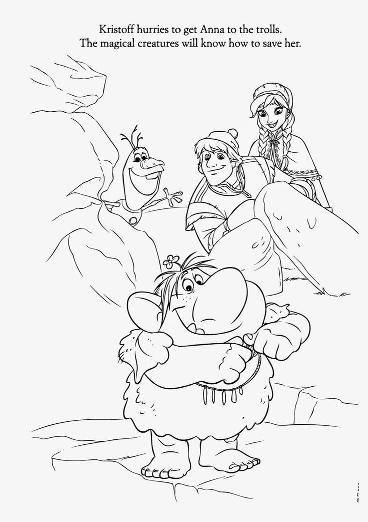 Find 15 Beautiful Frozen Disney Coloring Pages Free With All Of The Character Is A Movie That Successful And Very Popula