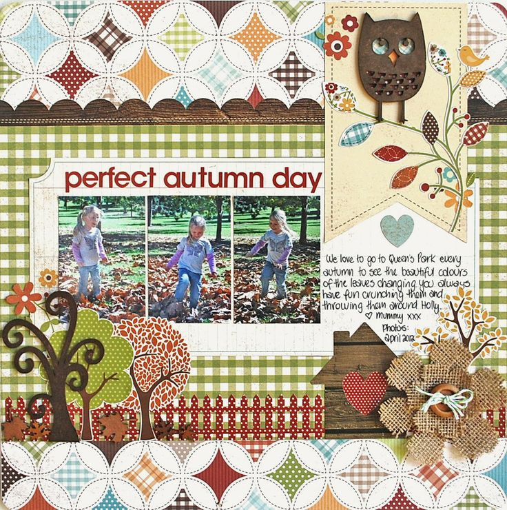 Perfect Autumn Day - Scrapbook.com