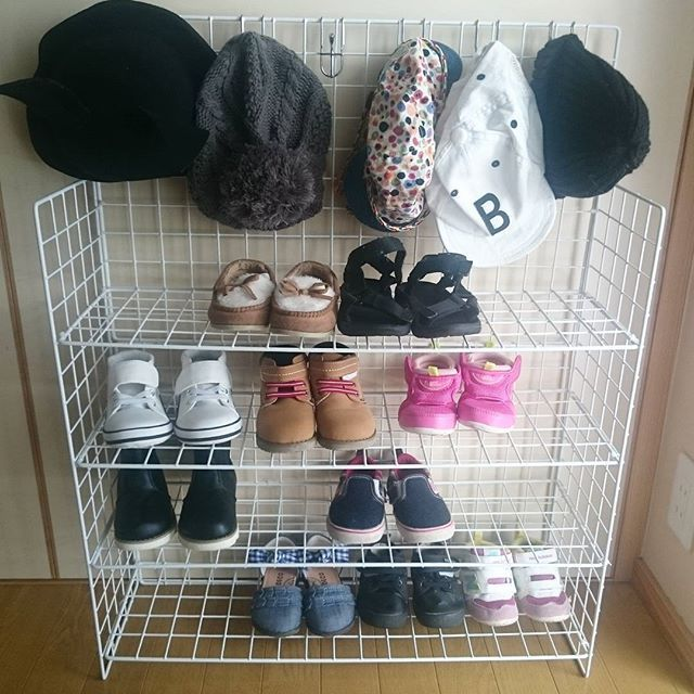 長女と次女の靴