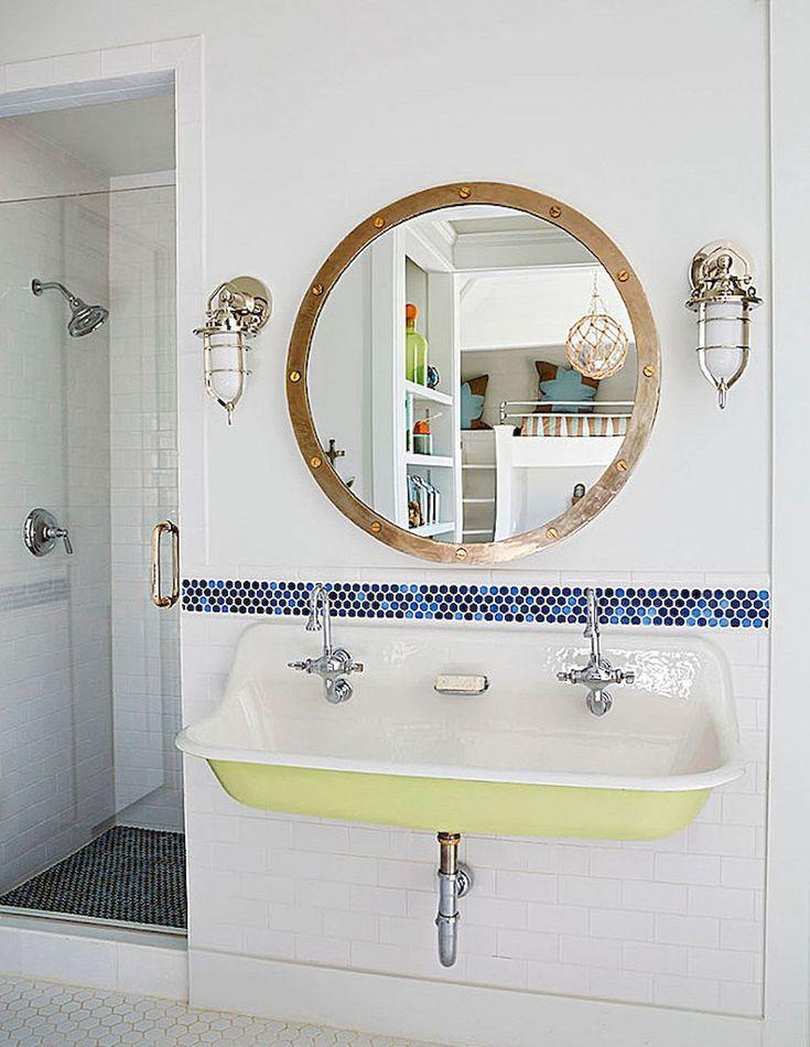 Adorable 30 Amazing Coastal Nautical Bathroom Remodel Ideas https://coachdecor.com/30-amazing-coastal-nautical-bathroom-remodel-ideas/