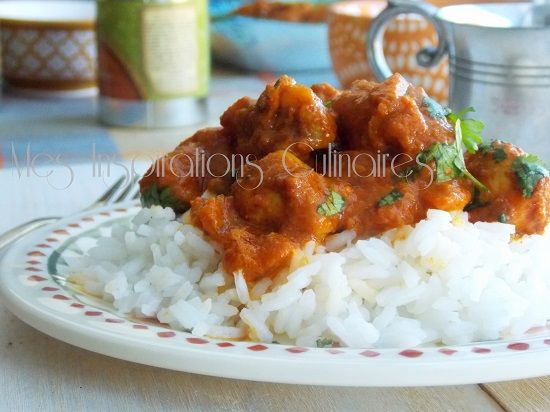 poulet korma au Garam Massala