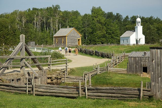Acadian Historical Village in Caraquet - New Brunswick, Canada ... I've been there