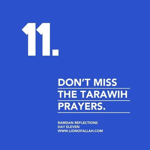 Ramadan Reflections: Day Eleven