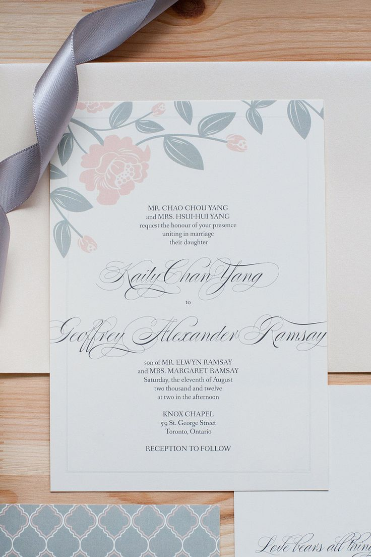 14 best olympia custom invitations images on pinterest custom pink rose wedding stationery anastasia marie stopboris Images