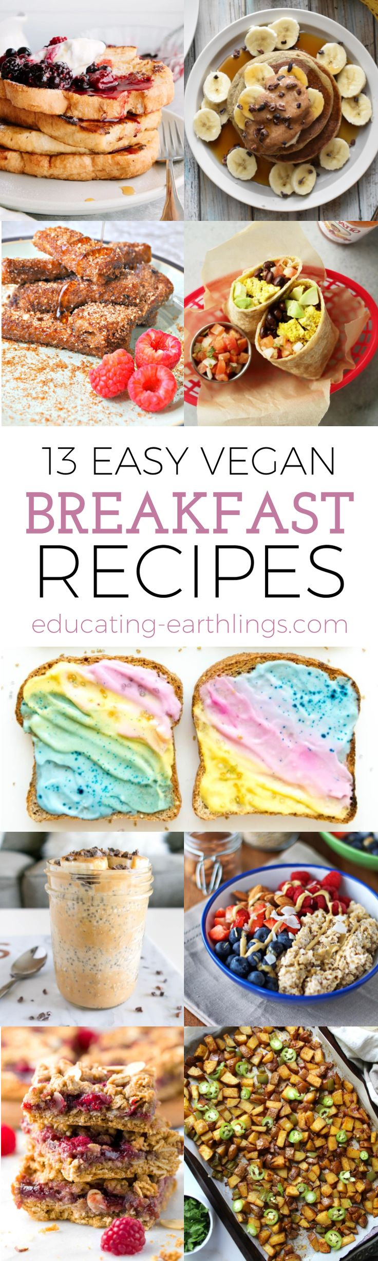 12 easy vegan breakfast recipes