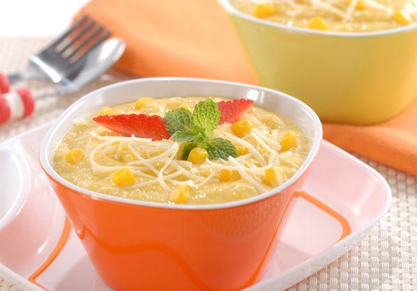 Resep membuat bubur jagung praktis  http://resepmasakanindonesiapraktis.blogspot.com/2014/12/resep-bubur-jagung-enak.html