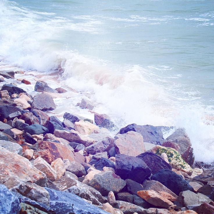 Das Meer, immer wieder das Meer. Große Liebe. ❤️ #latergram #meer…