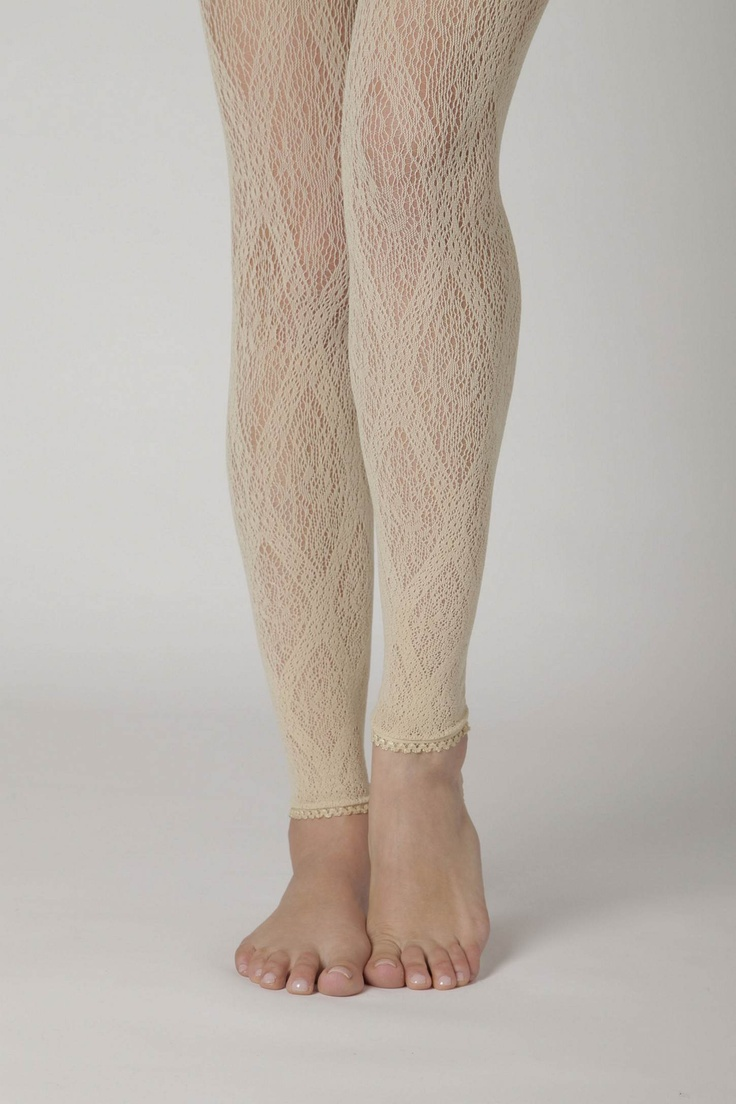 Lace tights!
