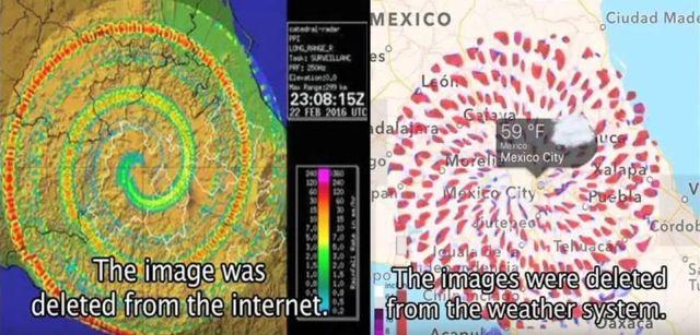 Misteriosos vórtices aparecem em região de vulcões mexicanos após aparecimento de OVNIs / UFOs