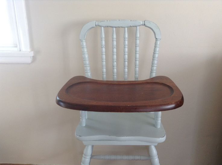 Vintage High Chair, Wooden High Chair, Jenny Lind by InspiredByCharm on Etsy https://www.etsy.com/listing/274211216/vintage-high-chair-wooden-high-chair