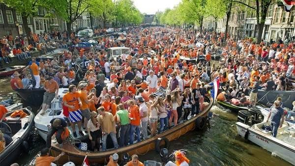 Here how topull off King,s Dy Amsterdam