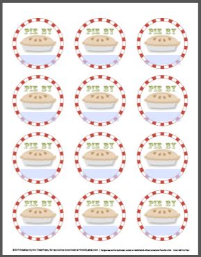 82 best label of the day images on pinterest printable labels free printable christmas labels templates free printable holiday labels by inktreepress negle Images