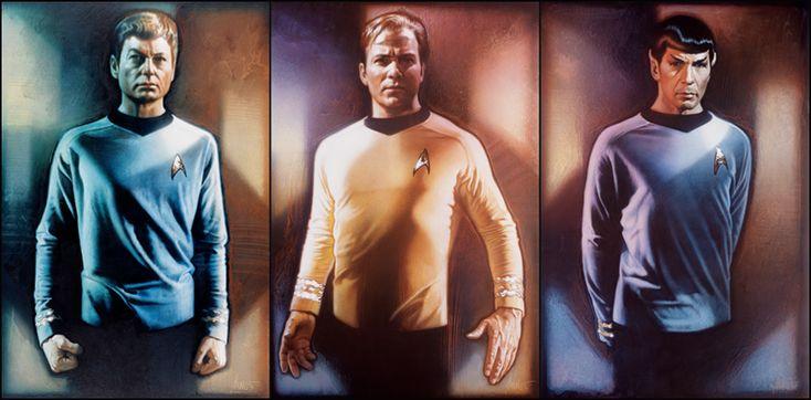 Drew Struzan - Star Trek 25th Anniversary