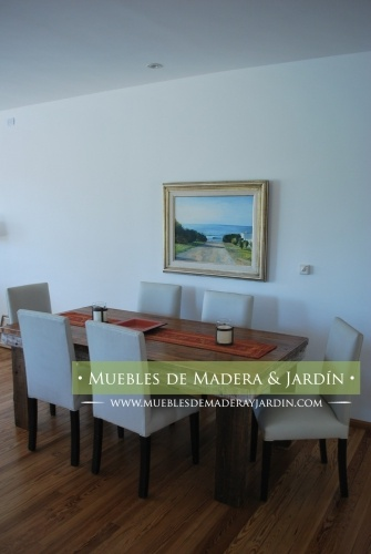 Mesas de Comedor Macizas: The Chalkboard Table, Comedor Maciza, Mesa De Comedor, Table, Table, Turquoise Blue Table