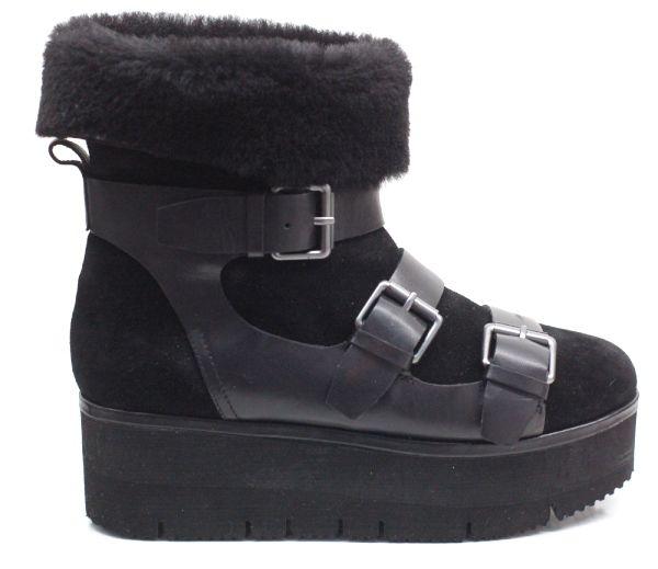 Trotzen Wind & Wetter: ASH Boots mit Fell und dicker Sohle