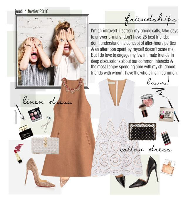 """""""Mon Style № 32 - February 4, 2016"""" by ann4-kar1na ❤ liked on Polyvore featuring Christian Louboutin, Gianvito Rossi, Valentino, STELLA McCARTNEY, Charlotte Olympia, Dolce&Gabbana, Stila, Sisley Paris, Georgie Beauty and Sephora Collection"""