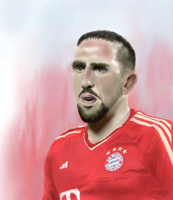 Homenaje Ribery Ps