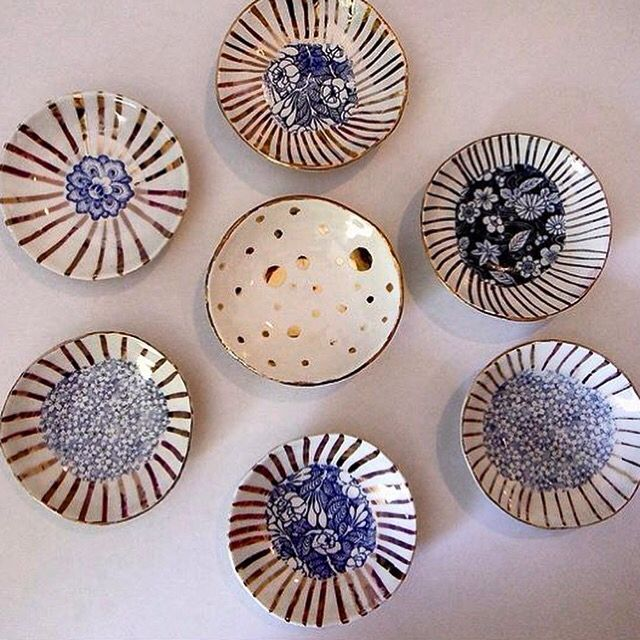Unique ceramics by ceramicist Carla Dinnage. Available from The Moree Gallery