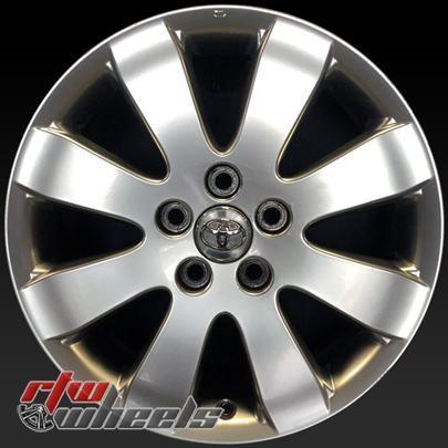 "Toyota Avalon oem wheels for sale 2005-2007. 17"" Silver rims 69484 - https://www.rtwwheels.com/store/shop/17-toyota-avalon-oem-wheels-for-sale-silver-rims-69484/"