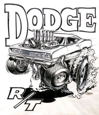 Ed Roth - Dodge Charger