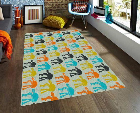 Star Wars rug, ATAT rug, Walkers Rugs, carpet, modern rug, nursery decor, men gift, boyfriend gifts, cool rug, Freek gift, Colorful kid rug