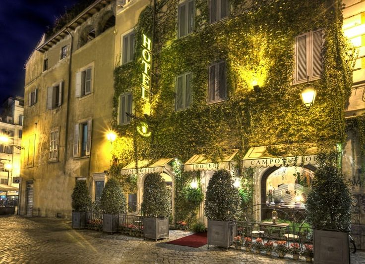 Hotel Campo De Fiori - my favourite hotel in Rome, great location and wonderful staff
