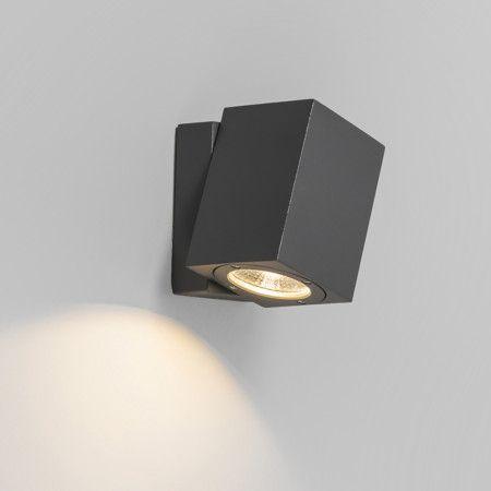 Wandlamp Baleno verstelbaar donkergrijs - Wandlampen - buiten - Buitenverlichting - Lampenlicht.be
