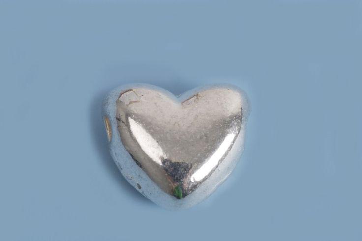 Hjerte, 10x9x5 mm, FS, 10 stk.