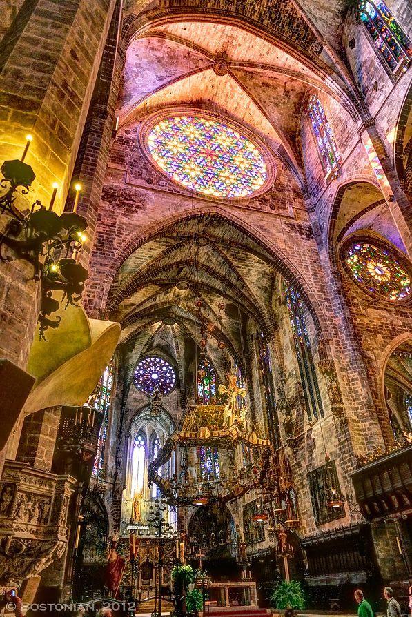 Cathedral of Palma, Majorca, Spain