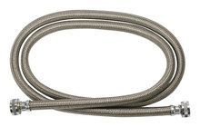 GE - 4' Washer Hose (2-Pack) - Stainless
