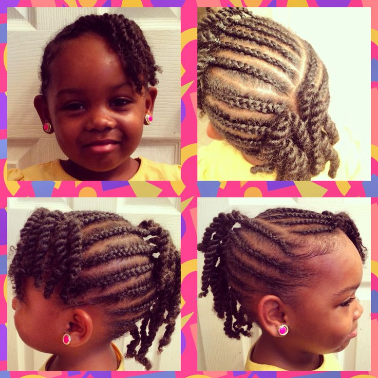 Braided Mohawk With Side Bangs