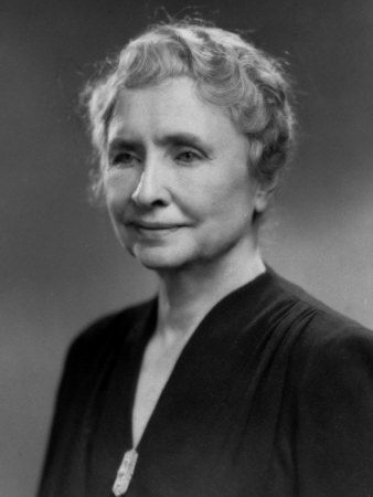 Helen Keller was an American author, political activist, and lecturer. She was the first deaf, blind person to earn a Bachelor of Arts degree. She was outspoken in her opposition to war. A member of the Socialist Party of America and the Wobblies, she campaigned for women's suffrage, workers' rights, and socialism, as well as many other causes. She was inducted into the Alabama Women's Hall of Fame in 1971.