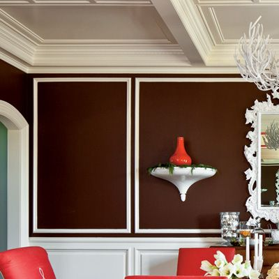 Brown Dining Room Decor best 20+ chocolate brown walls ideas on pinterest | chocolate