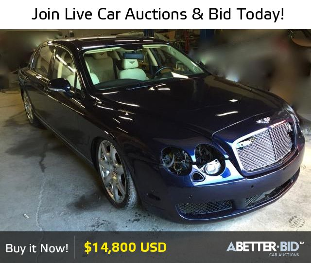 Salvage 2007 BENTLEY ALL MODELS For Sale
