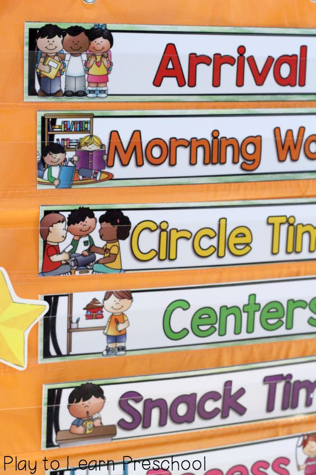 Tips for establishing a good calendar routine with preschoolers. Includes tips for home and school.