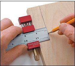 Herramienta de encuadernación - Czeck Edge™ Ruler Stop: Bookbinding tools