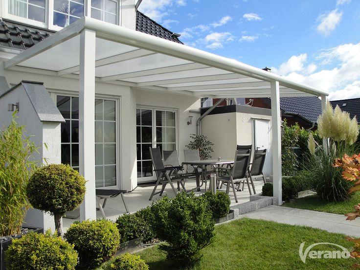 Met een #terrasoverkapping van Verano® haalt u het comfort van binnen naar buiten! #Verano #veranda