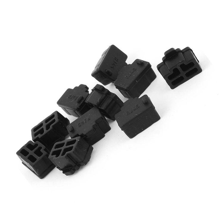 $1.34 (Buy here: https://alitems.com/g/1e8d114494ebda23ff8b16525dc3e8/?i=5&ulp=https%3A%2F%2Fwww.aliexpress.com%2Fitem%2FYOC-Ethernet-Hub-Port-RJ45-Anti-Dust-Cover-Cap-Protector-Plug-10Pcs-Black%2F32767311646.html ) YOC-Ethernet Hub Port RJ45 Anti Dust Cover Cap Protector Plug 10Pcs Black for just $1.34