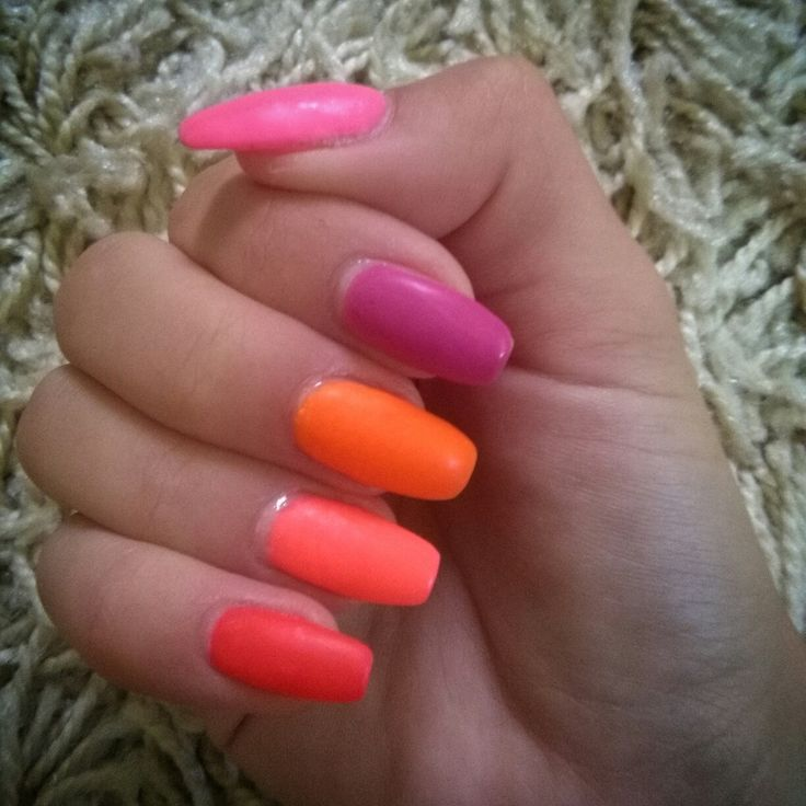 summer neon colors
