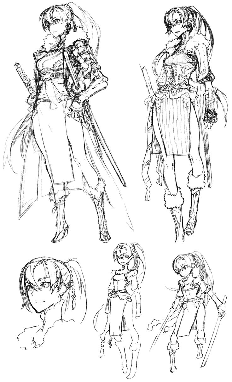 Lyndis from Fire Emblem: Awakening by Yusuke Kozaki