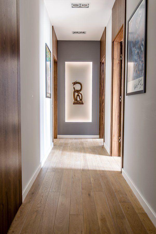 Pomysł na wąski przedpokój - Architektura, wnętrza, technologia, design - HomeSquare