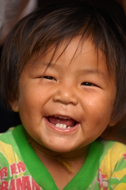 Smiling Toddler from Thailand...