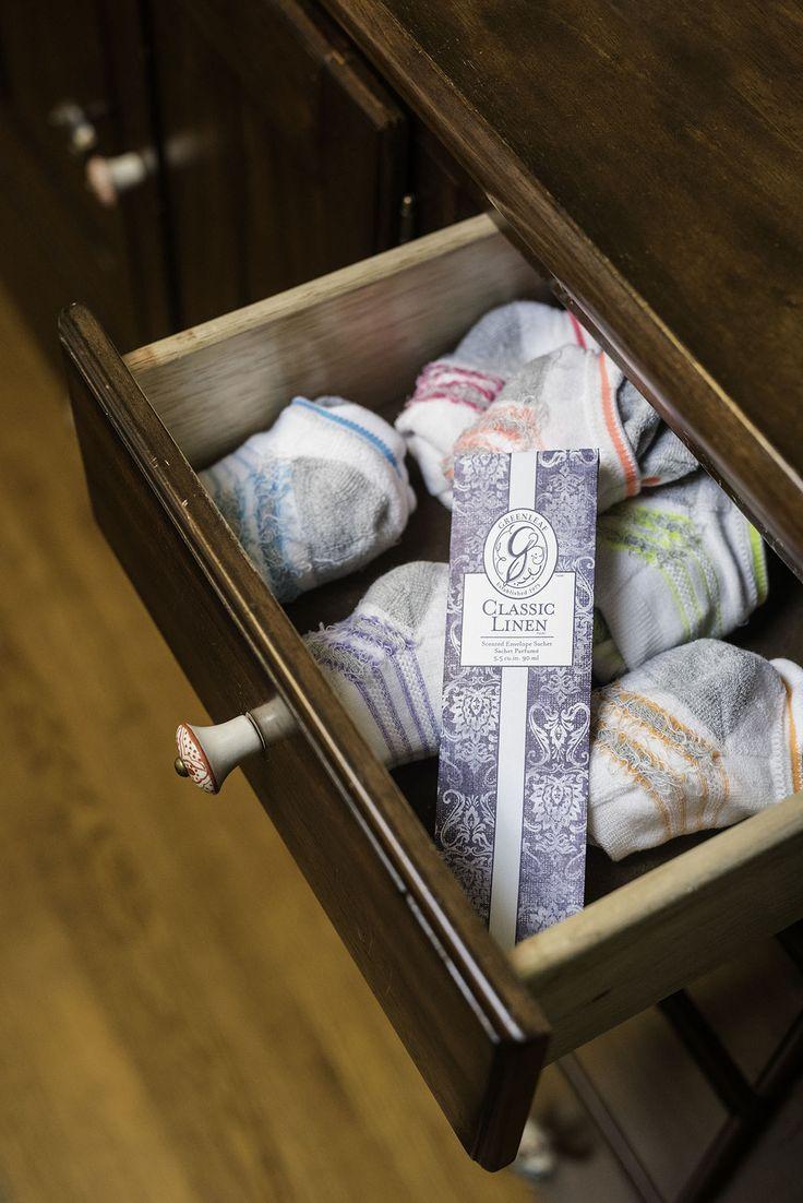 Use #2 - Slip a sachet in your sock drawer