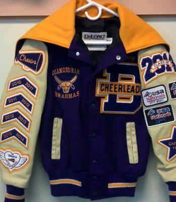 letterman jacket patch placement - Google Search