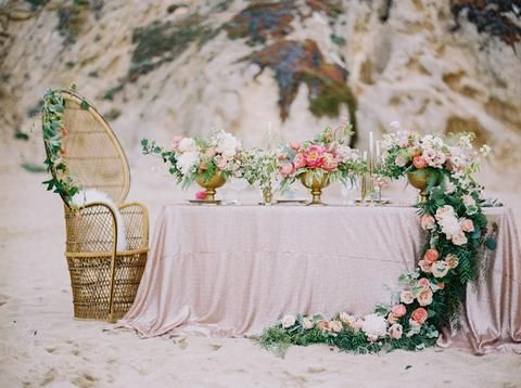 champagne sequin table linen nude sequin tablecloths